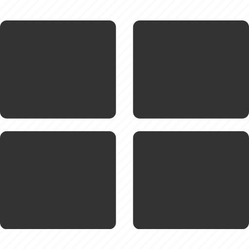 grid, interface, menu icon