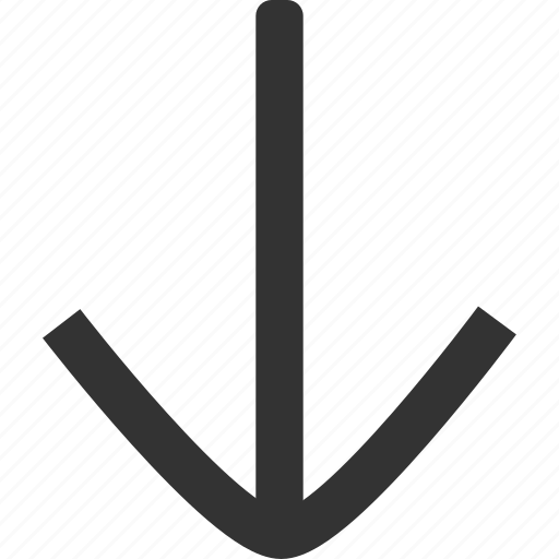 Arrow, down, direction icon - Download on Iconfinder