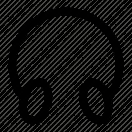 earphone, headphone, headphones, headset icon