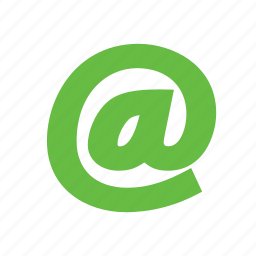 at, email, letter icon