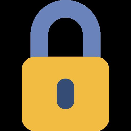 basic, lock, locked, padlock, protected, security, ui icon