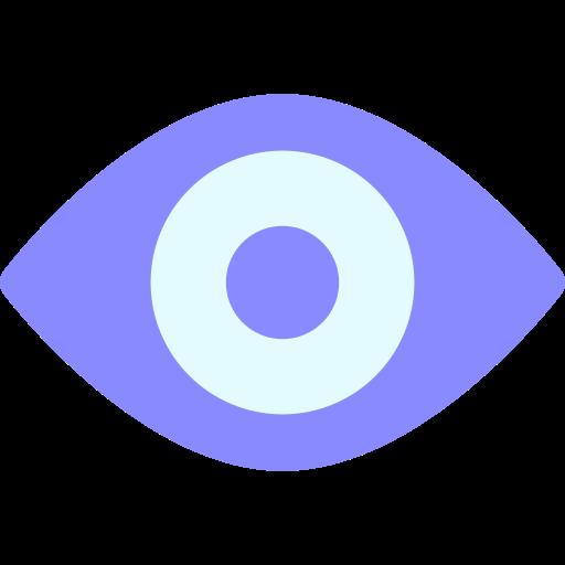 basic, eye, ui, view, watch icon