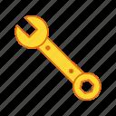 key, repair tool, wrench icon