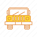 jeep, transport, vichle icon