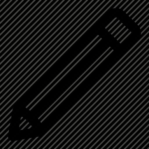 basic, edit, pen, pencil, tool, ui, write icon
