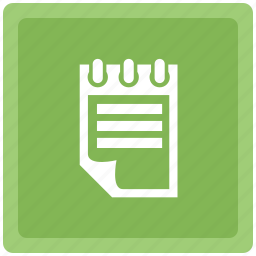 document, format, note, notepad icon