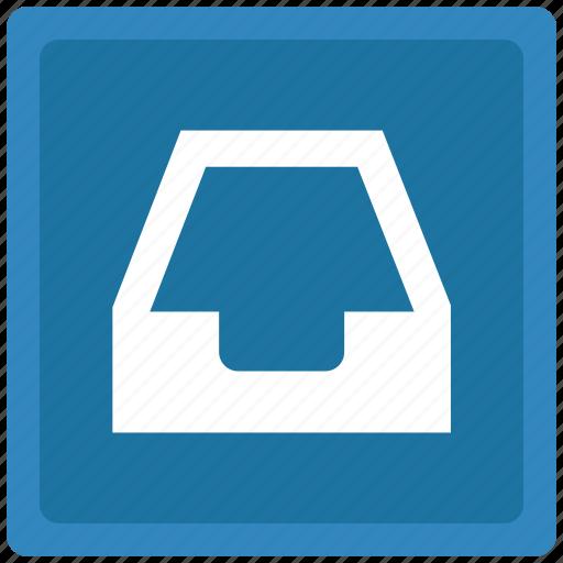 box, inbox, mail, mailbox icon