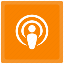 connection, podcast, signal icon