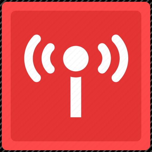 network, radio, signal, signals icon