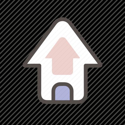arrow, arrows, navigation, top, up icon