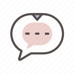 chat, connect, conversation, support icon icon
