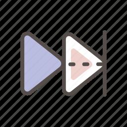 arrow, arrows, forward, go icon, navigation, right icon