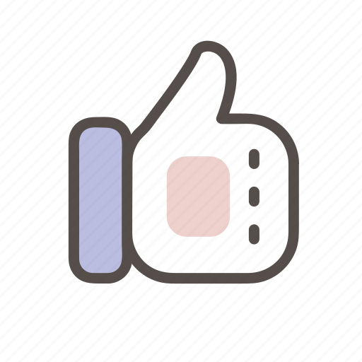 hand, like, thumbs, up, vote icon