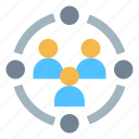 community, group, people icon