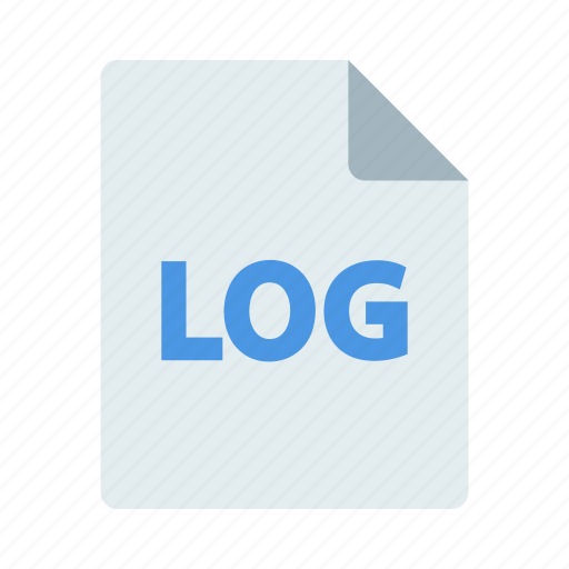File, format, log, document icon - Download on Iconfinder