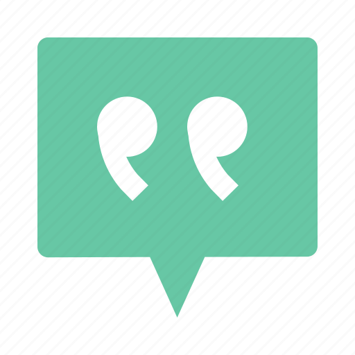 Message, quote, chat, communication icon - Download on Iconfinder