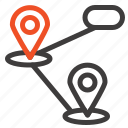 gps, location, map icon