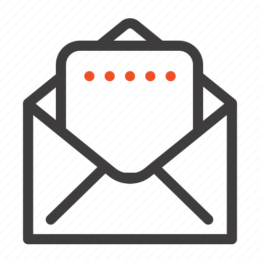 document, mail icon