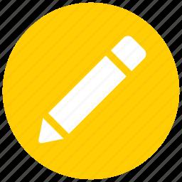 draw, edit, pen, pencil, tool icon icon