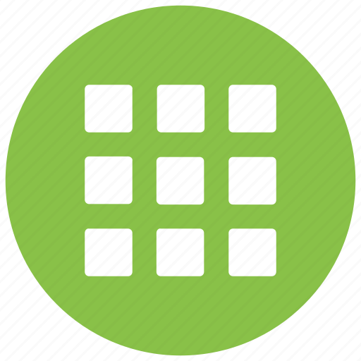 grid, play, rubic, training icon icon