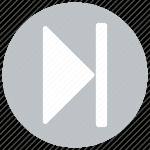 forward, next, play, right icon icon