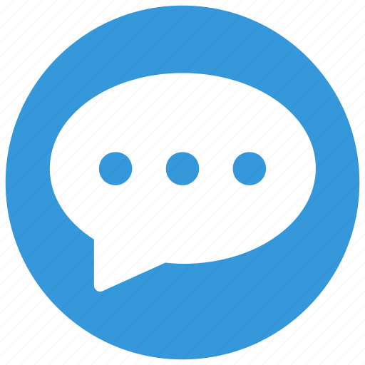 chat, chatting, comment, notification icon icon