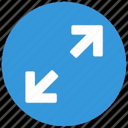 expand, full, fullscreen, screen icon icon