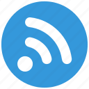 blog, communication, feed, media, news, rss, subscribe icon icon