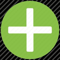 add, create, document, file, new, plus icon icon