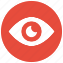 eye, human eye, search, view icon icon icon