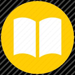 book, education, read, reading icon, study icon