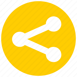communication, connect, disperse, network, share, split icon icon