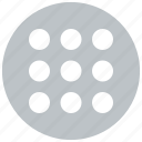 grid, layout, menu, schedule icon icon