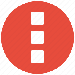 dots, more, navigation, option icon icon