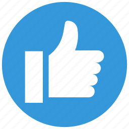 like, thumb, thumbs, up, vote icon icon