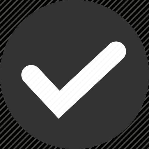 accept, check, mark, ok, success, tick, yes icon