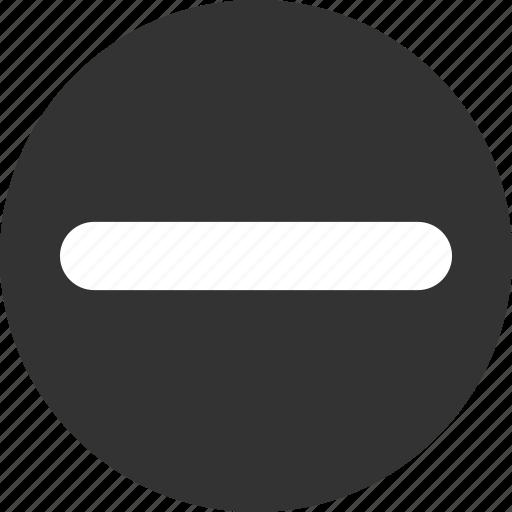 Cancel, close, delete, exit, minus, remove icon - Download on Iconfinder