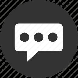 bubble, chat, comment, comments, message icon