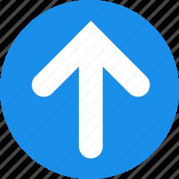 arrow, arrows, up icon