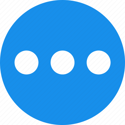 ellipsis, list, menu, more icon