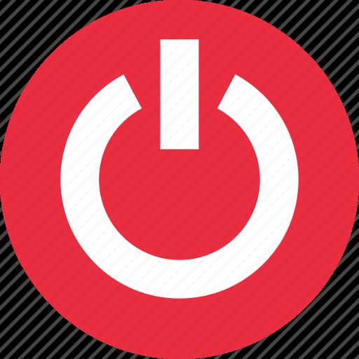 power, shut, shut down, switch icon
