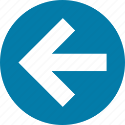 arrow, arrows, back, direction, left, return, west icon