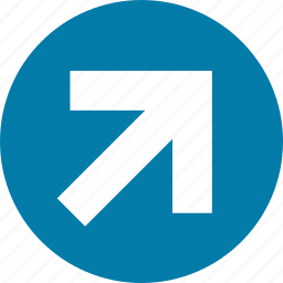 arrow, arrows, direction, east, north, right, top icon