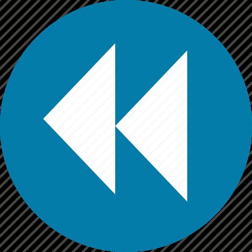 back, backward, control, media, multimedia, music, play icon