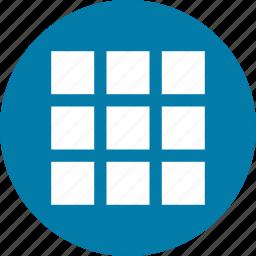 grid, menu icon