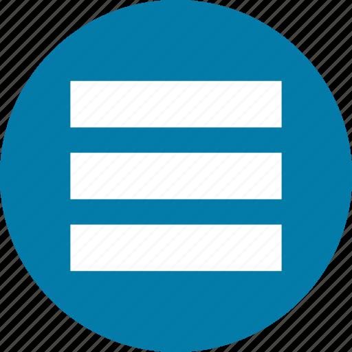 interface, menu, stack icon