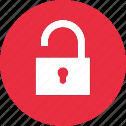 key, lock, password, public, security, unlock, unlocked icon