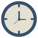 clock, hour, time, watch icon