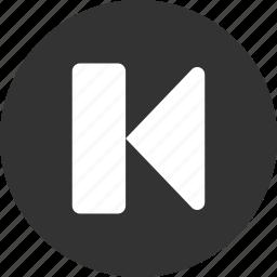 arrow, arrows, back, direction, left, previous, undo icon