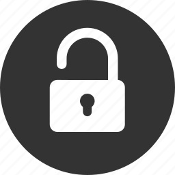insecure, lock, password, protection, secure, security, unlocked icon